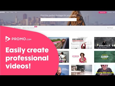 Promo.com - Easily Create Professional Videos For Your Business