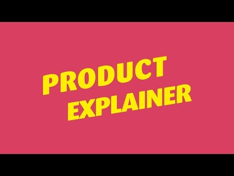 Fun Product Explainer Template