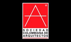 diseño de página web sociedad colombiana de arquitectos